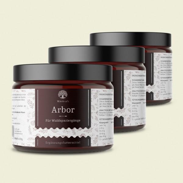 Arbor 3er Pack – für Waldspaziergänge