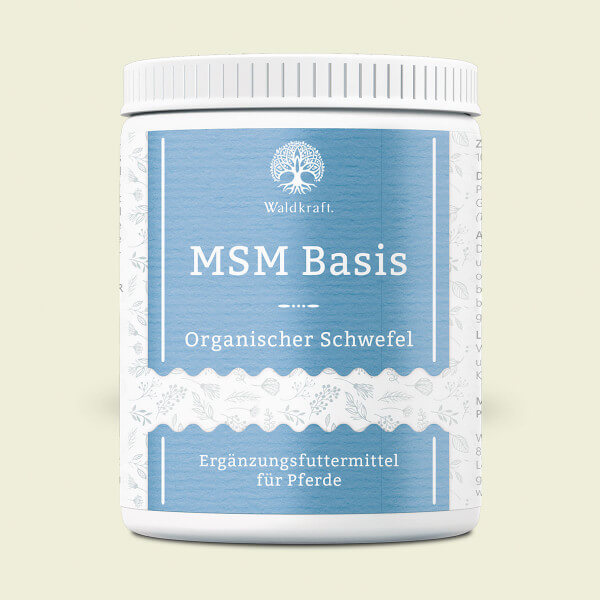 MSM Basis für Pferde - Organischer Schwefel