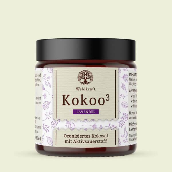 Kokoo³ Lavendel - Ozonisiertes Kokosöl mit Lavendel