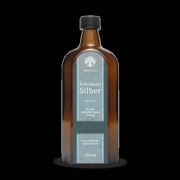 Kolloidales Silber 25ppm - Antimikrobielle Lösung