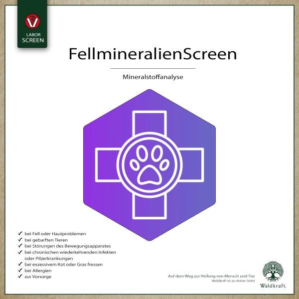 Fellmineralien-Screen
