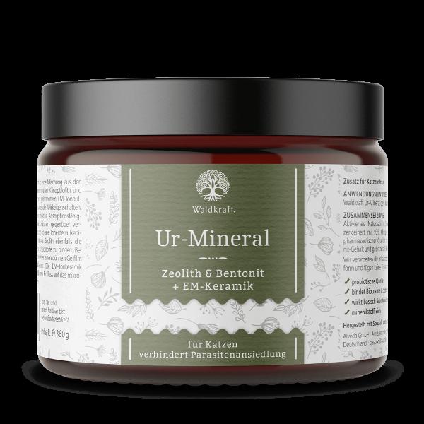 Ur-Mineral – Zeolith & Bentonit + EM-Keramik – 360g