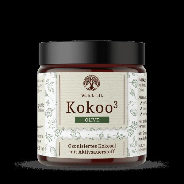 Kokoo³ Olive - Ozonisiertes Kokos- und Olivenöl - 30ml