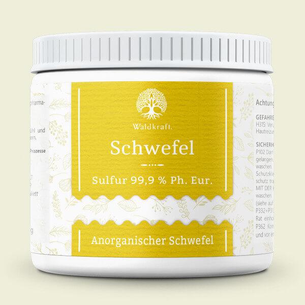 Schwefel 99,9% - Pharmazeutische Qualität - 350g