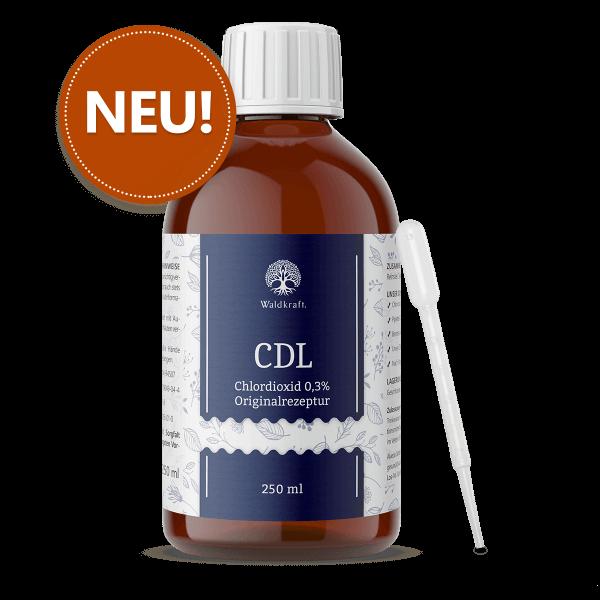 CDL/CDS - reinste Chlordioxid-Lösung in Originalrezeptur