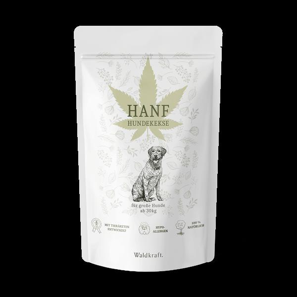 Hanf-Hundekekse für große Hunde – 180 Kekse