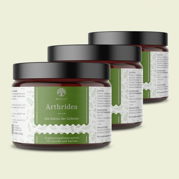 Arthridea 3er Pack – Die Göttin der Gelenke - 900g (Produktdarstellung)