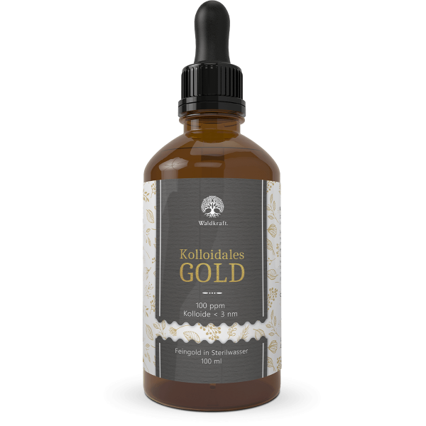 Kolloidales Gold – 100 ppm Gold-Lösung