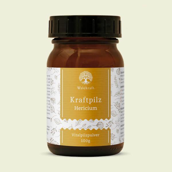 Kraftpilz Hericium – Vitalpilzpulver – 100g